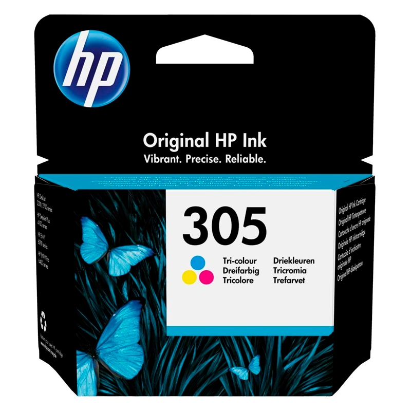 HP Cartucho Multipack 305 Tricolor