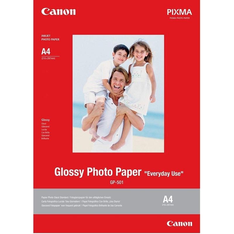 Canon Papel Foto GP-501 A4  20 Hojas Brillante
