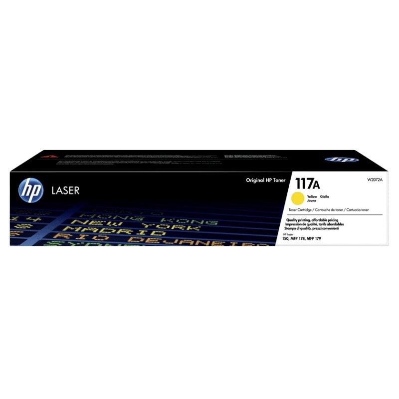 HP Tóner 117A Amarillo