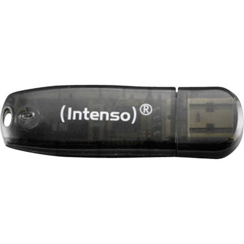 Intenso 3502470 Lápiz USB 2.0 Rainbow 16GB Negro