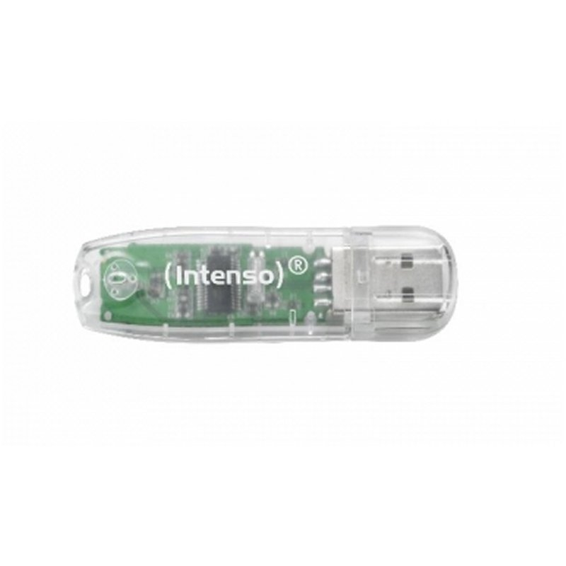 Intenso 3502480 Lápiz USB 2.0 Rainbow 32GB Transp