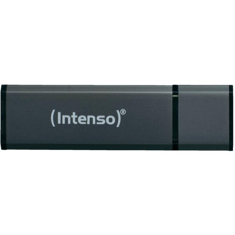 Intenso 3521461 Lápiz USB 2.0 Alu 8GB Antracita