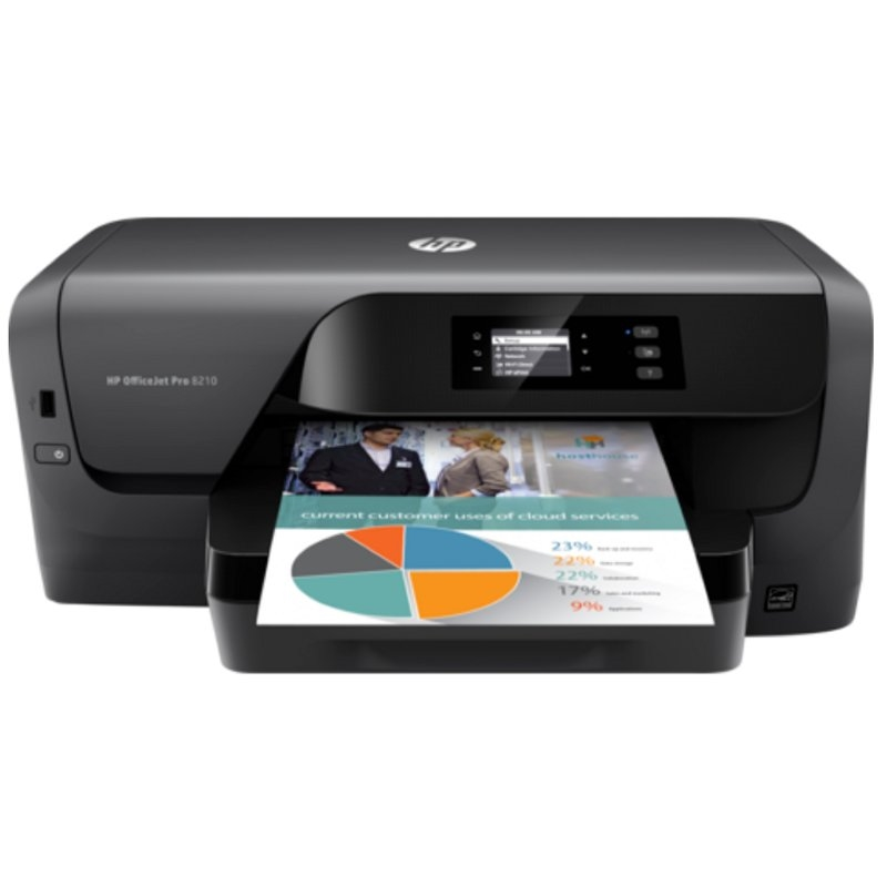 HP Impresora Color Officejet Pro 8210 Duplex Red