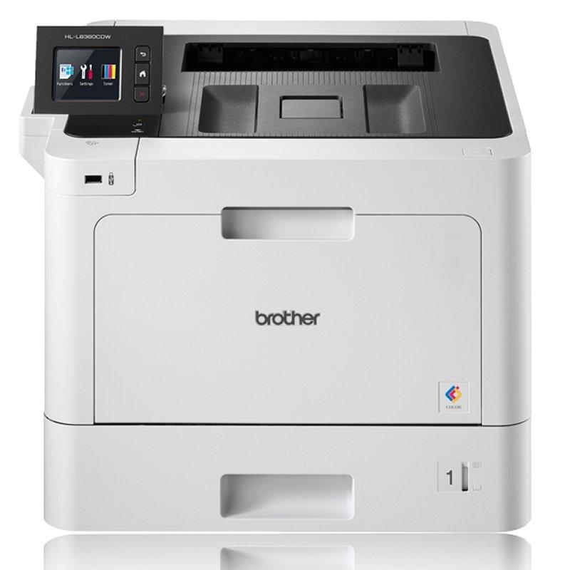 Brother Impresora Laser Color HL-L8360CDWLT+bandej