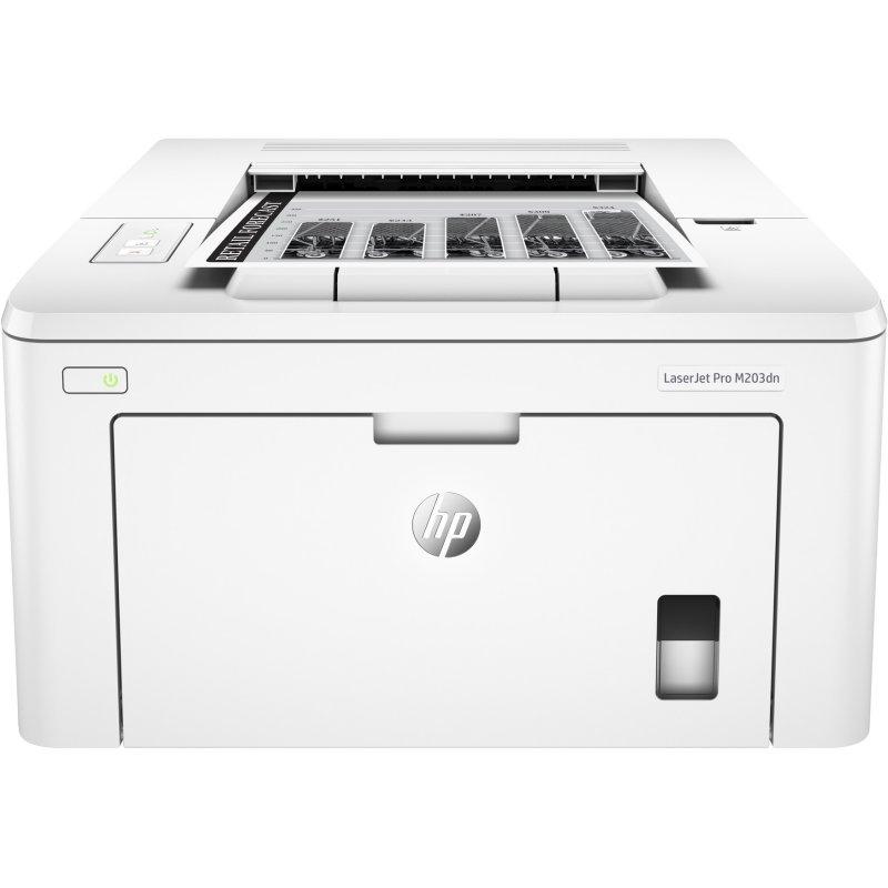 HP Impresora LaserJet Pro M203dw Duplex Wifi Red