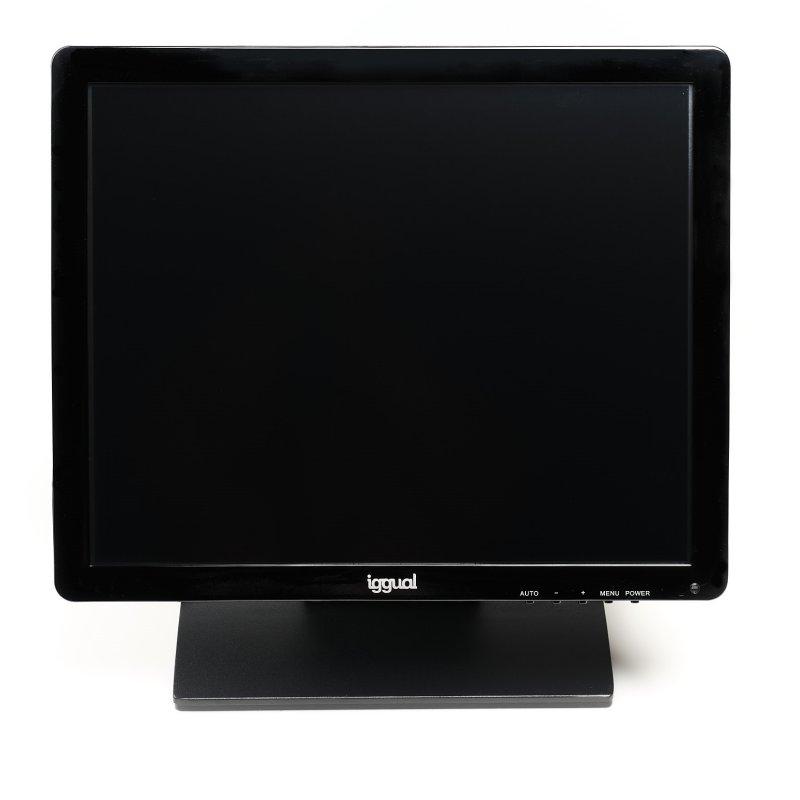"""iggual Monitor LCD táctil MTL17C SXGA 17"""" USB"""