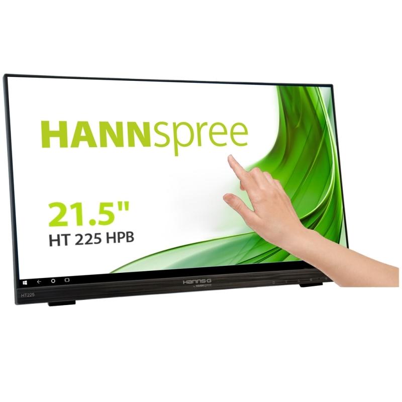 """Hanns G HT225HPB  Monitor 21.5"""" Tác.IPS HDMI DP"""