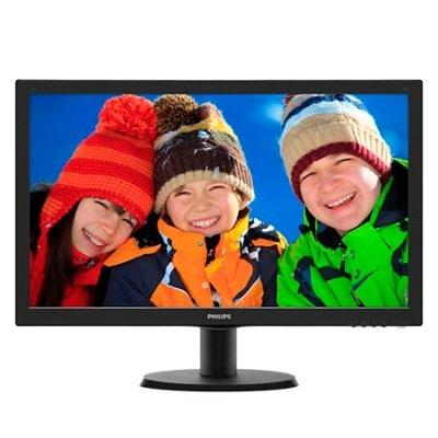 """Philips 243V5LHSB Monitor 24"""" Led 16:9 VGA DVI HDM"""