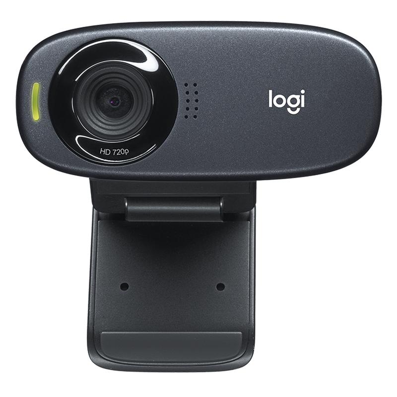 Logitech C310 WebCam HD 720p 5Mpx USB negro