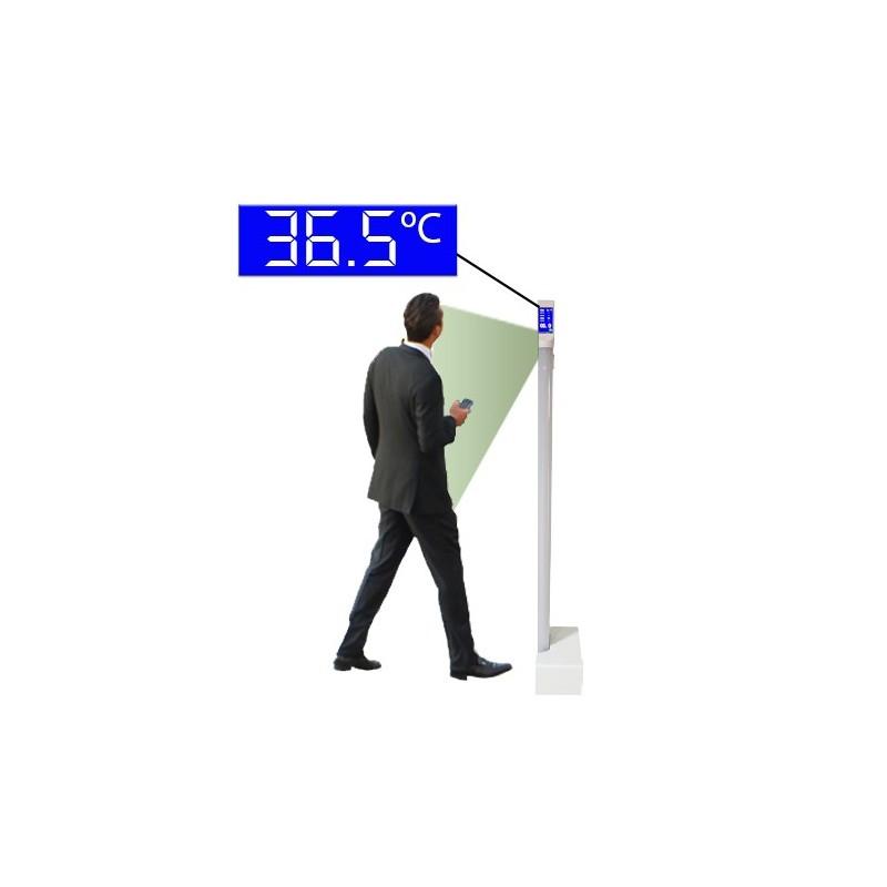 ZKTeco Medidor Temperatura sin contacto Indoor