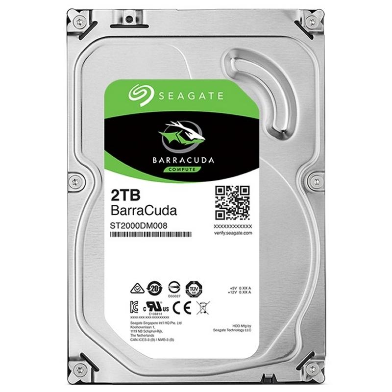 "Seagate BarraCuda ST2000DM008 2TB 3.5"" SATA3"
