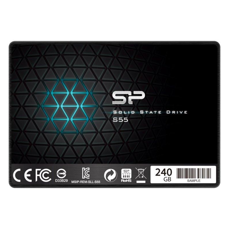 """SP Slim S55 SSD 240GB 2.5"""" 7mm Sata3"""