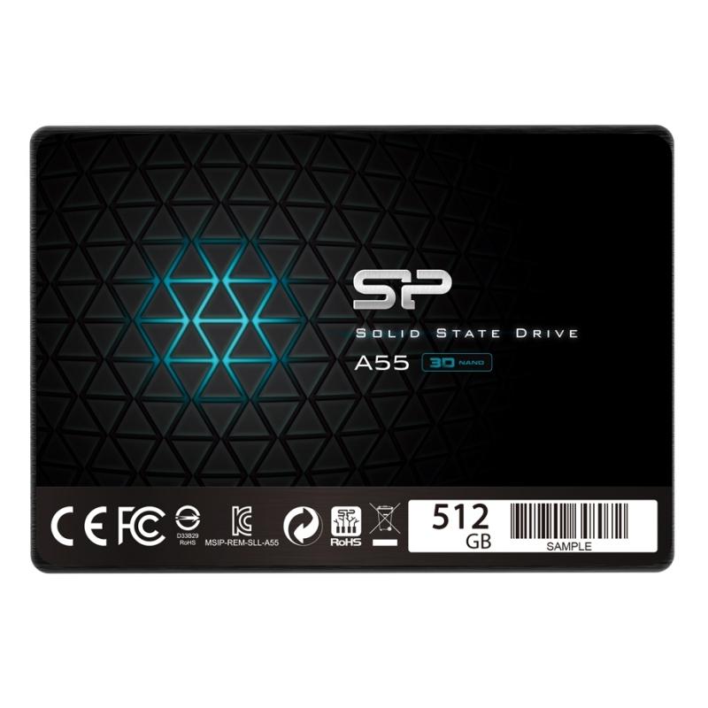 """SP A55 SSD 512GB 2.5"""" 7mm Sata3"""