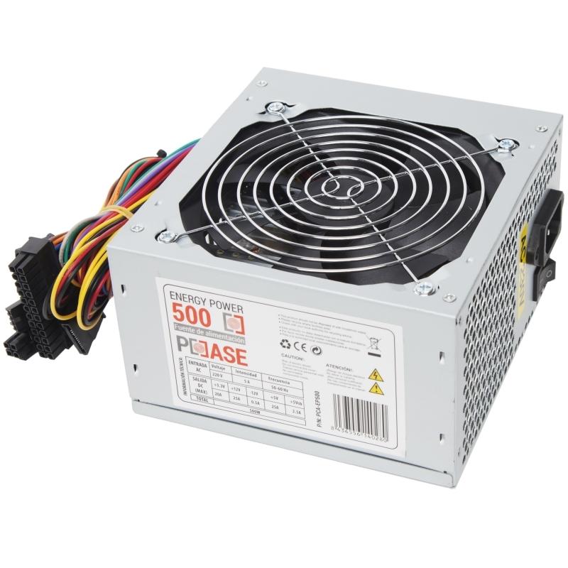 CoolBox Fuente alim. ATX PCCASE EP-500