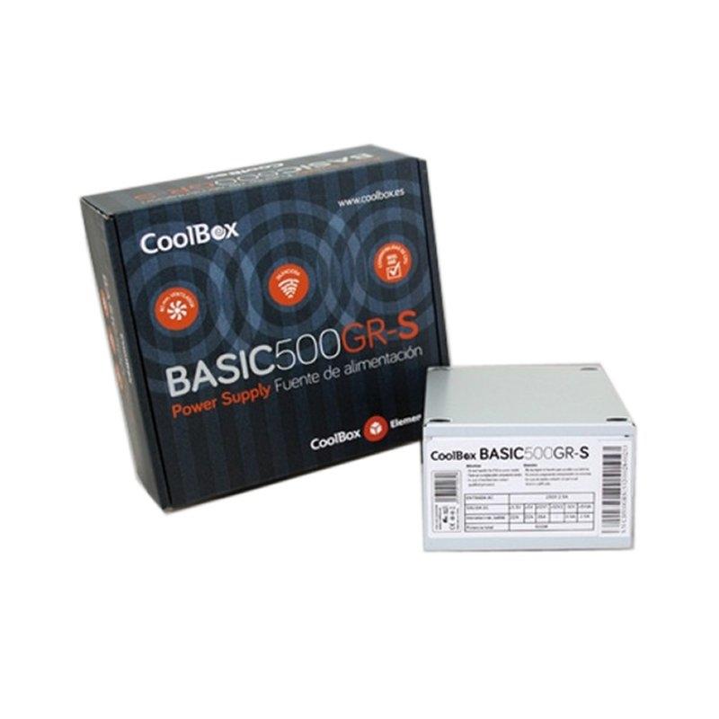 Coolbox Fuente Alim.SFX 500GR-S (CE,ROHS)