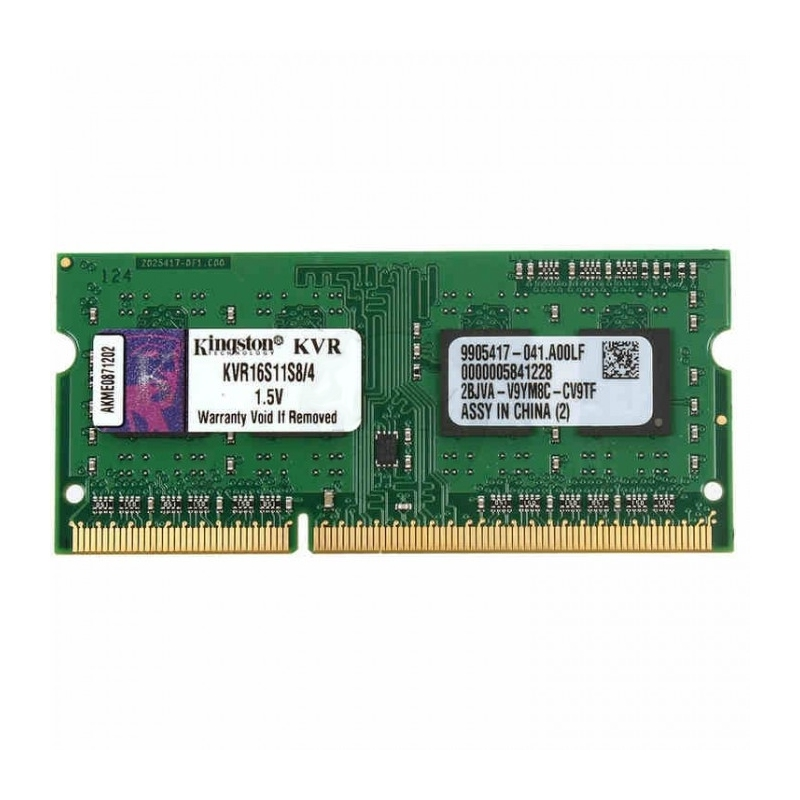 Kingston KVR16S11S8/4 SoDim DDR3 4GB 1600MHz SR