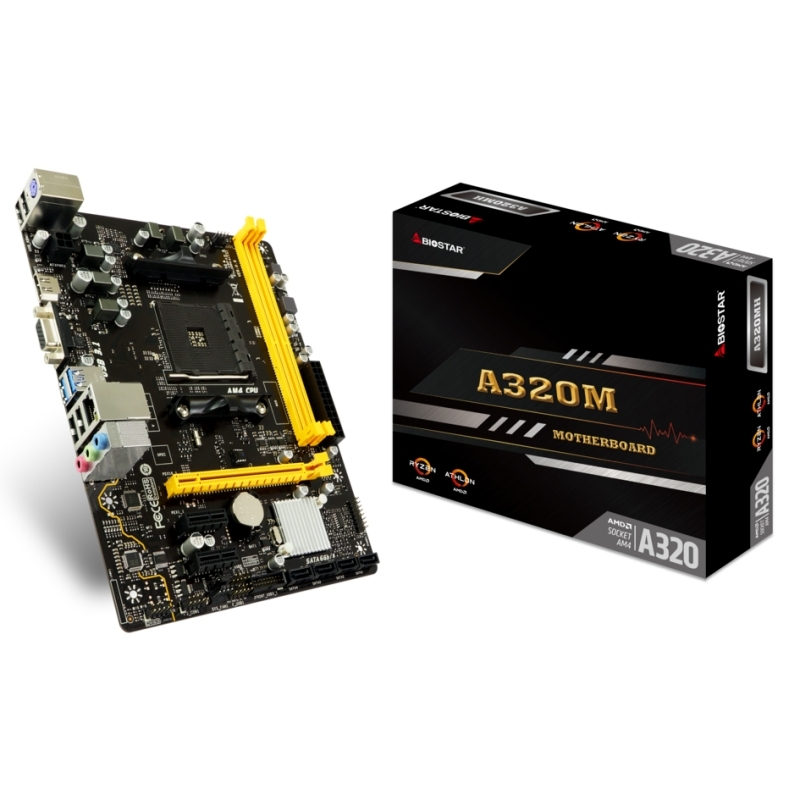 Biostar Placa Base A320MH mATX AM4