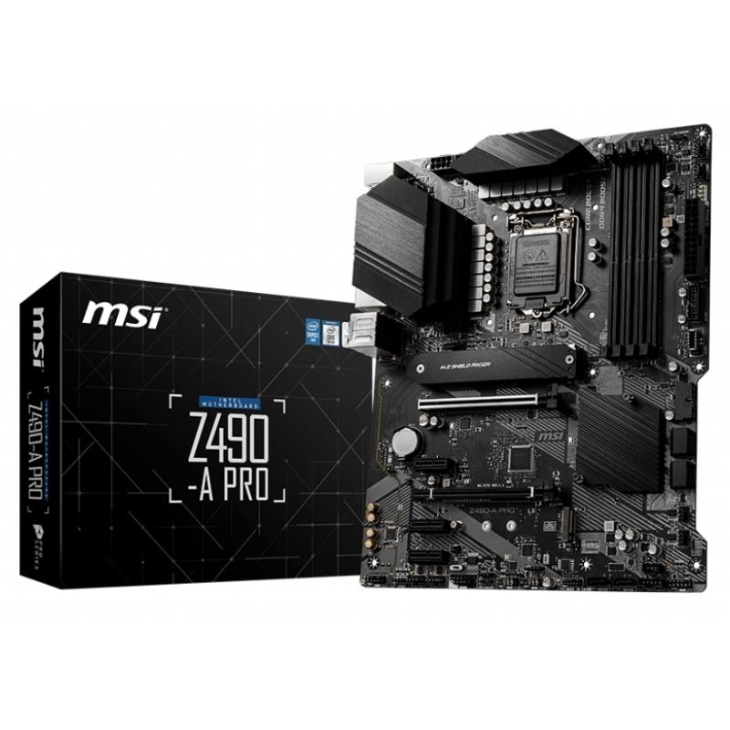 MSI Placa Base Z490-A PRO ATX LGA1200