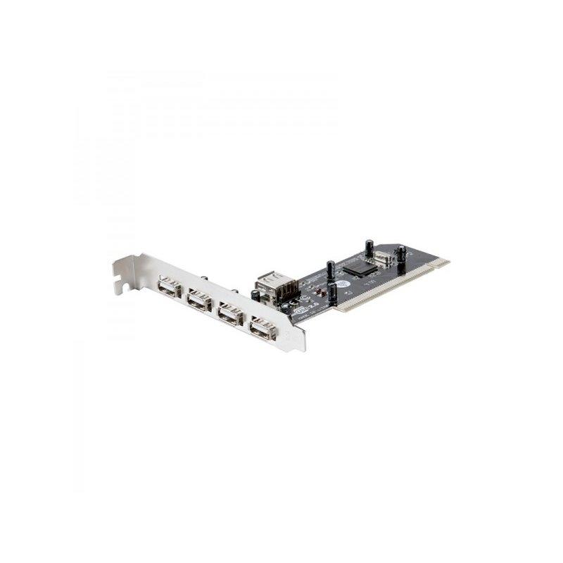 approx! PCI4PV3 tarjeta 4+1 puertos USB 2.0 PCI