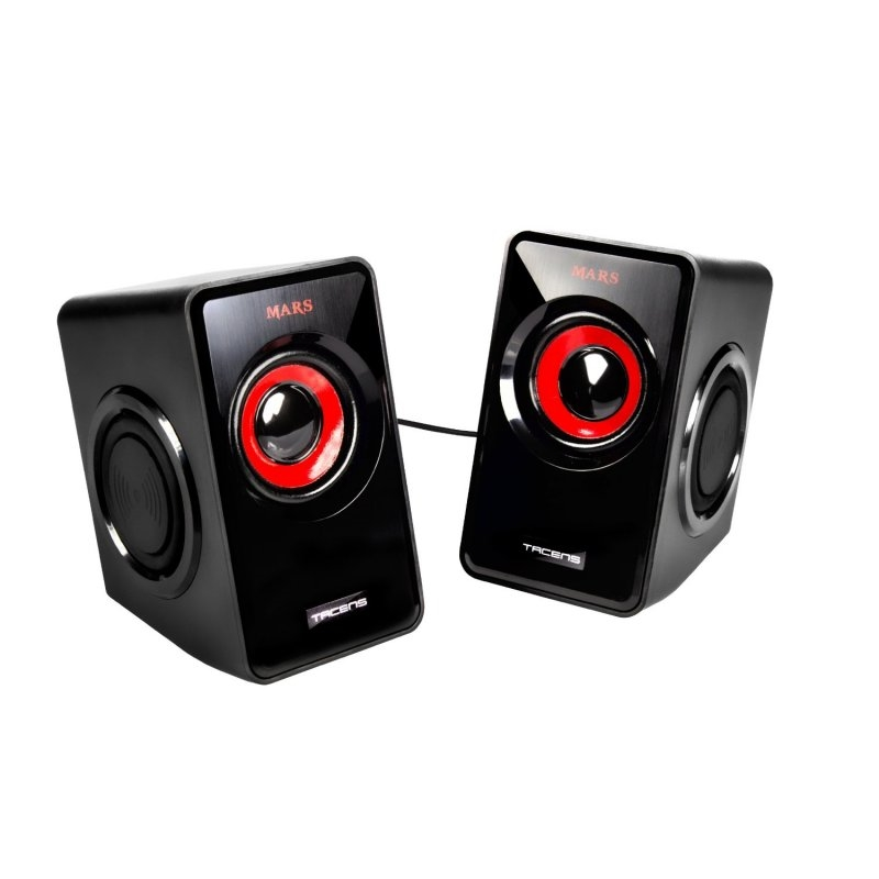 Mars Gaming Altavoces 2.0 MS1 negro/rojo