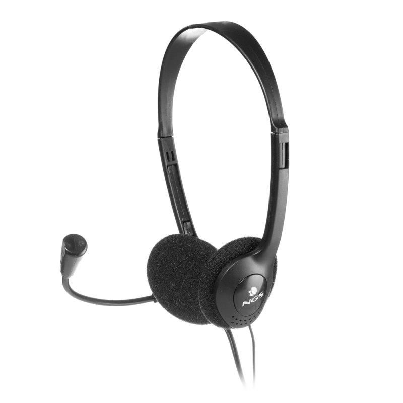 NGS Auricular/Micrófono con regulador MS-103