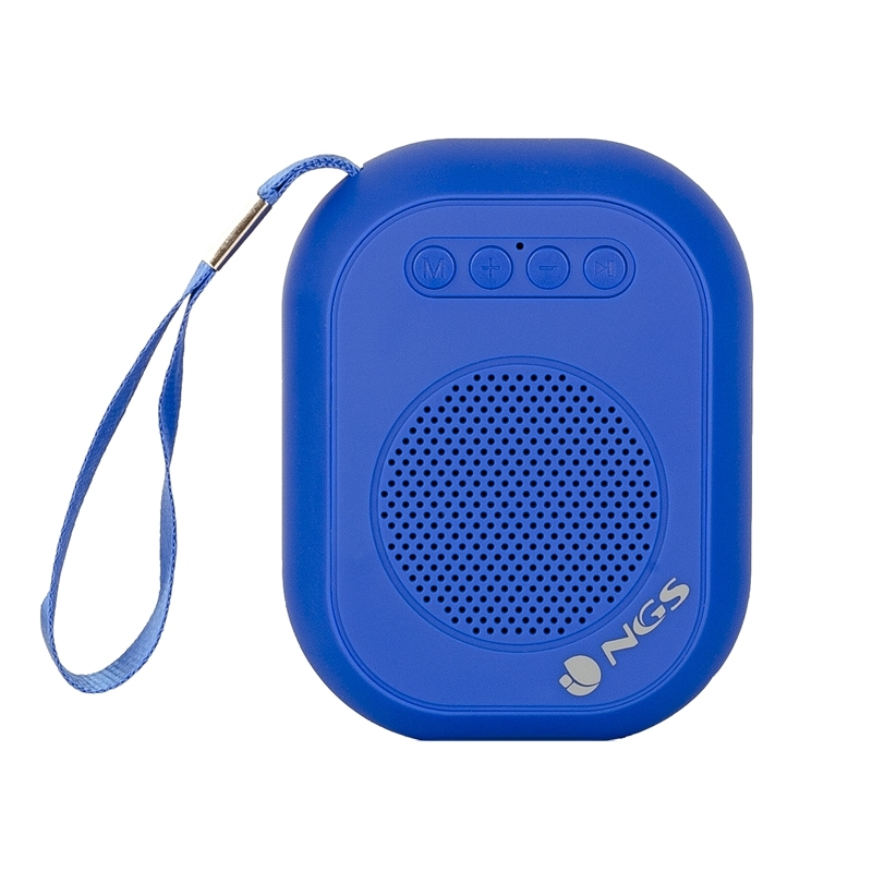 NGS Altavoz Portátil BT DE3W SD/RADIO FM /USB  Azu