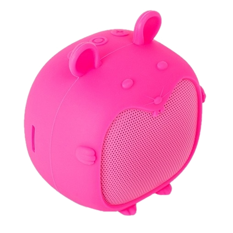 SPC Altavoz Bluetooth Sound Pups 3W MicroSD Rosa