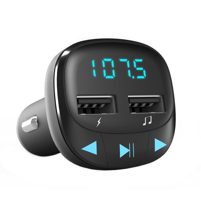 Energy sistem Car Transmitter FM Black (microSD)