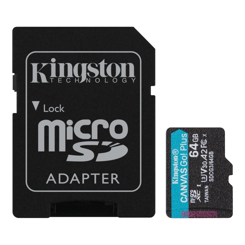 Kingston SDCG3/64GB micro SD XC clase 10 64GB c/a