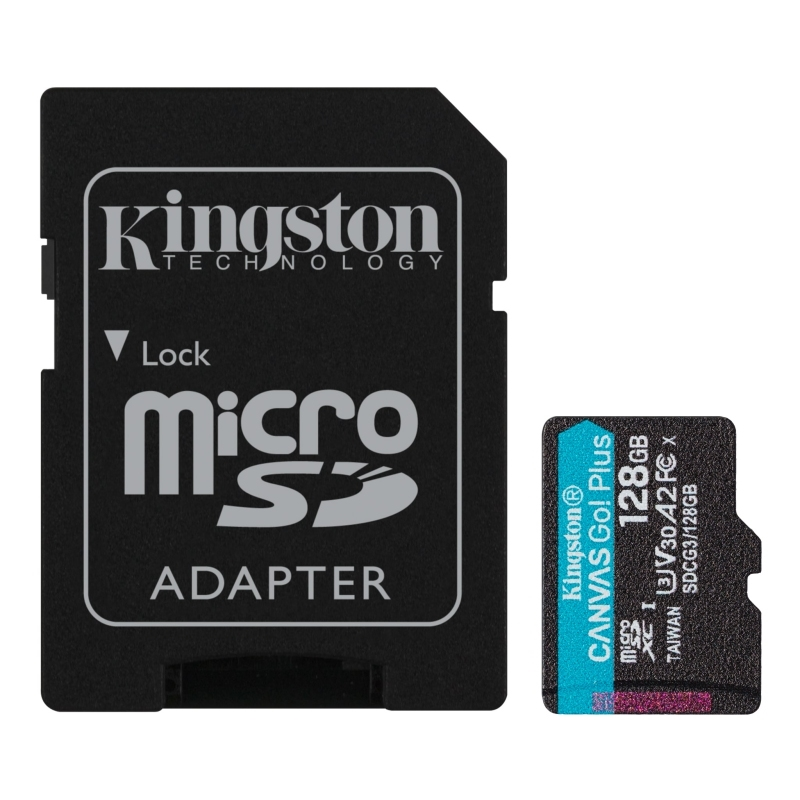 Kingston SDCG3/128GB microSD XC clase 10 128GB c/a