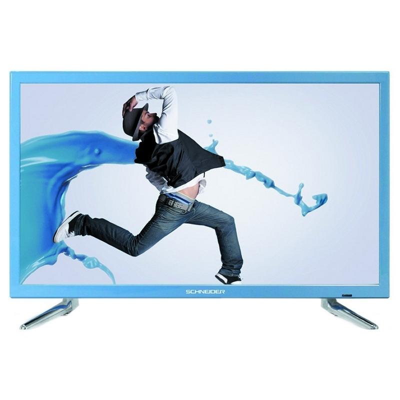 """Schneider RAINBOW TV 24"""" LED HD USB HDMI  A"""