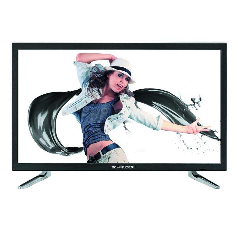 """Schneider RAINBOW TV 24"""" LED HD USB HDMI N"""