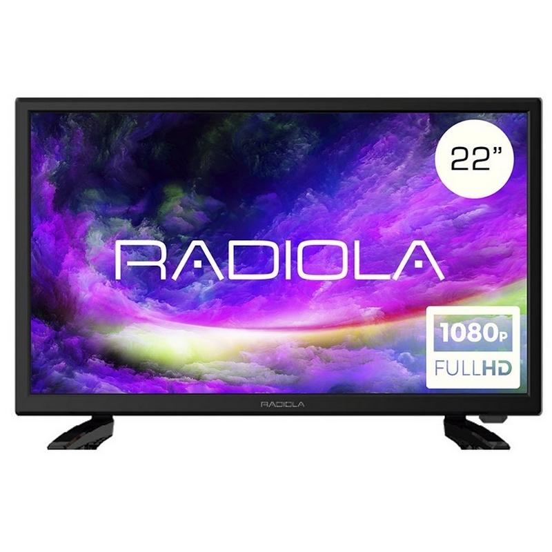 """Radiola LD22100K TV 22"""" FHD HDMI TDT2 12V"""