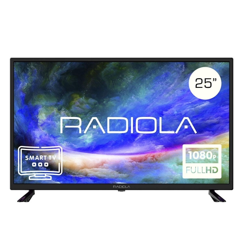 "Radiola LD25100KA TV 25""SmarTV  And. FHD HDMI TDT2"