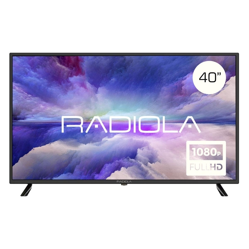 "Radiola LD40100K TV 40"" LED FHD HDMI TDT2"